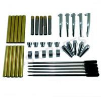 Chrome Streamline Pen Kits, Pack of 5