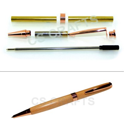 Copper Streamline Pen Kit, Single Kit
