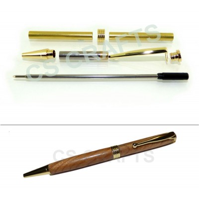 Gold Streamline Pen Kit, Single Kit
