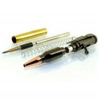 Gun Metal Lock n Load Bullet Pencil Kit