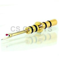 Seam Ripper Tip in Gold finish