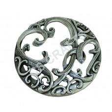 Quality Cast Pewter Pot pourri lid - Filigree design