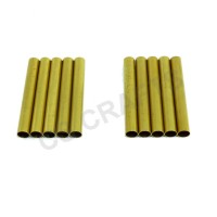 Slimline / Fancy Spare Brass Tubes x 10