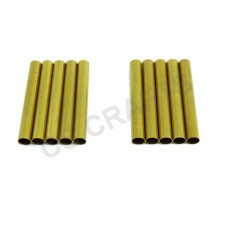 Spare Brass Tubes for Slimline etc Pen Kits x 10